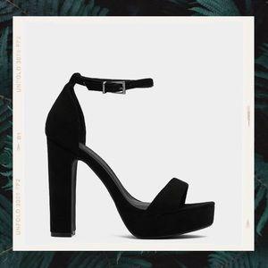 Nasty Gal Black Heels